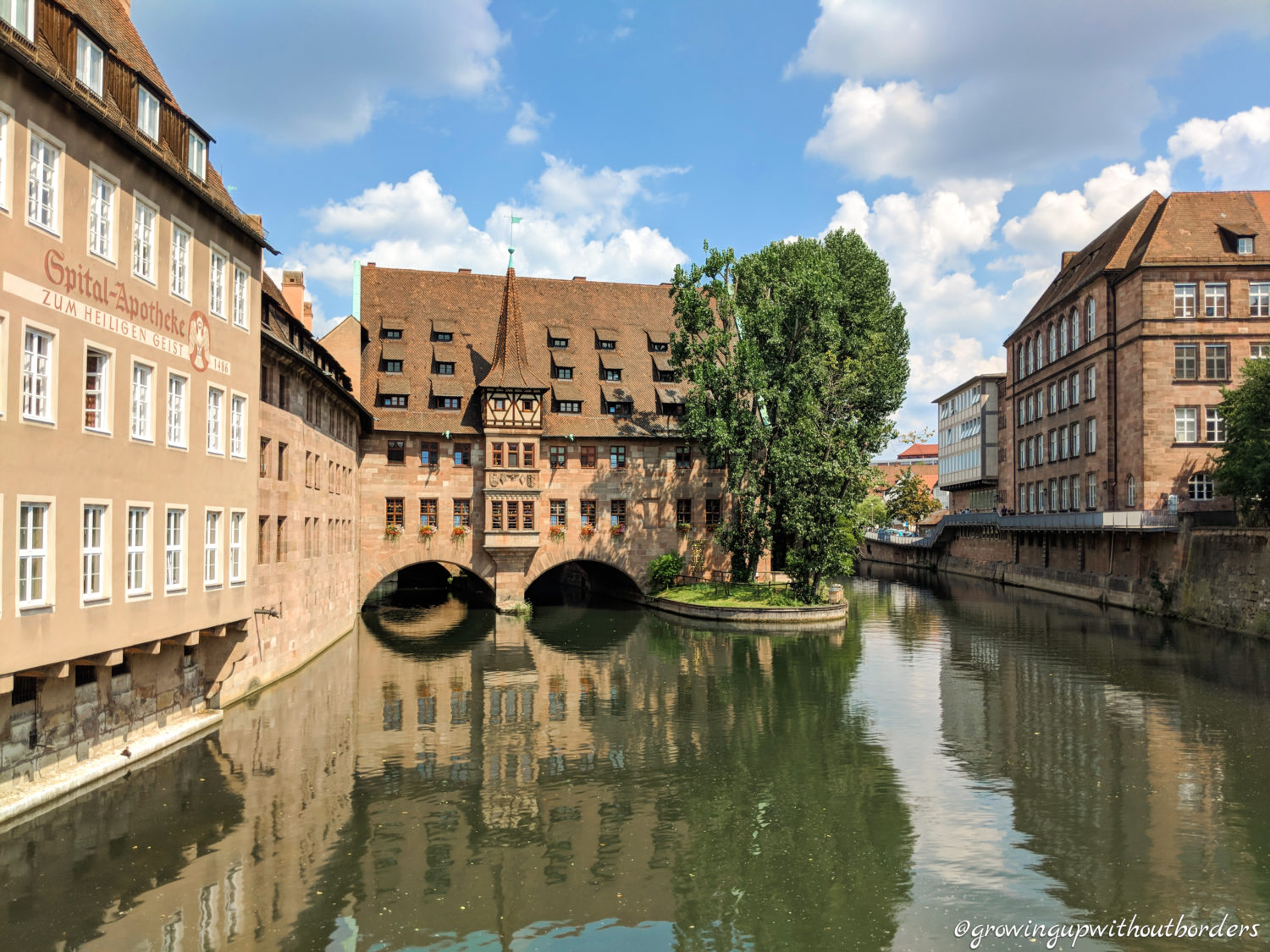 Nuremberg-city-river-day