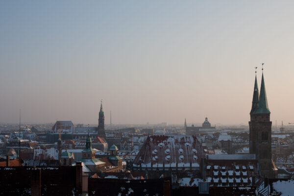 Nuremberg_morning_city